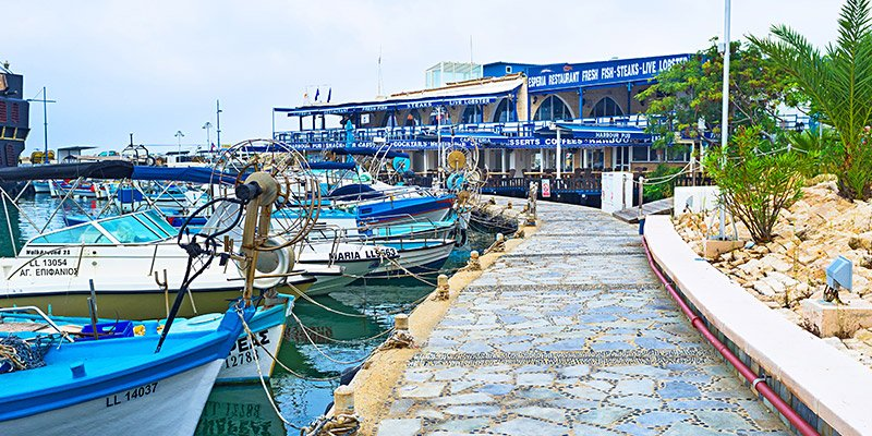 fishing boats harbour cyprus